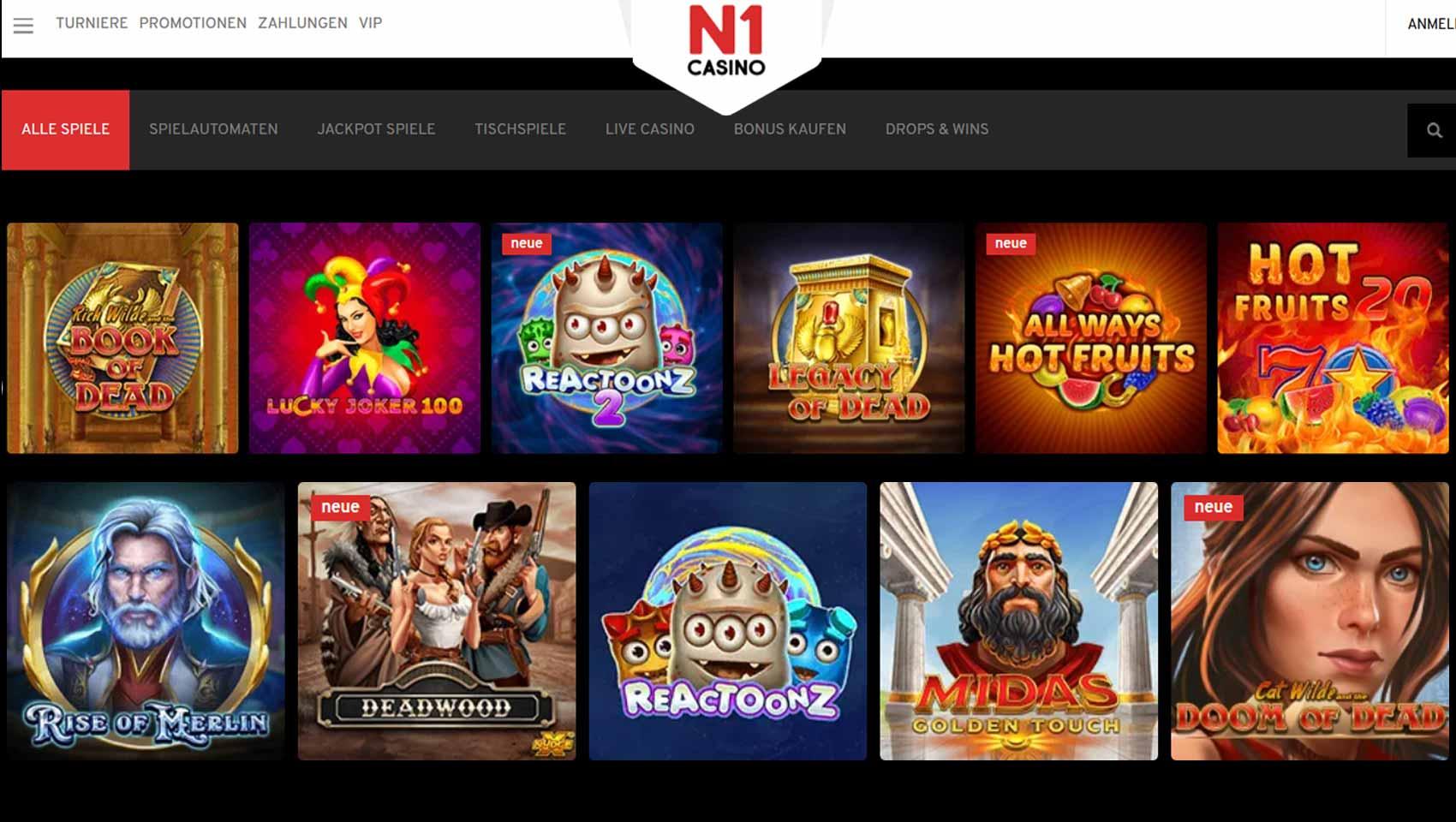 Online Casino Test 2017
