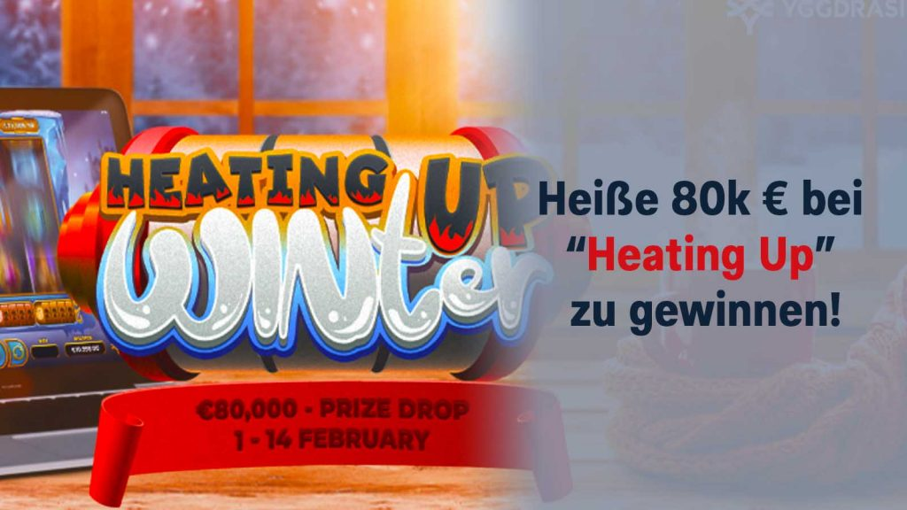 """80.000 € bei """"Heating Up"""" Promo"""