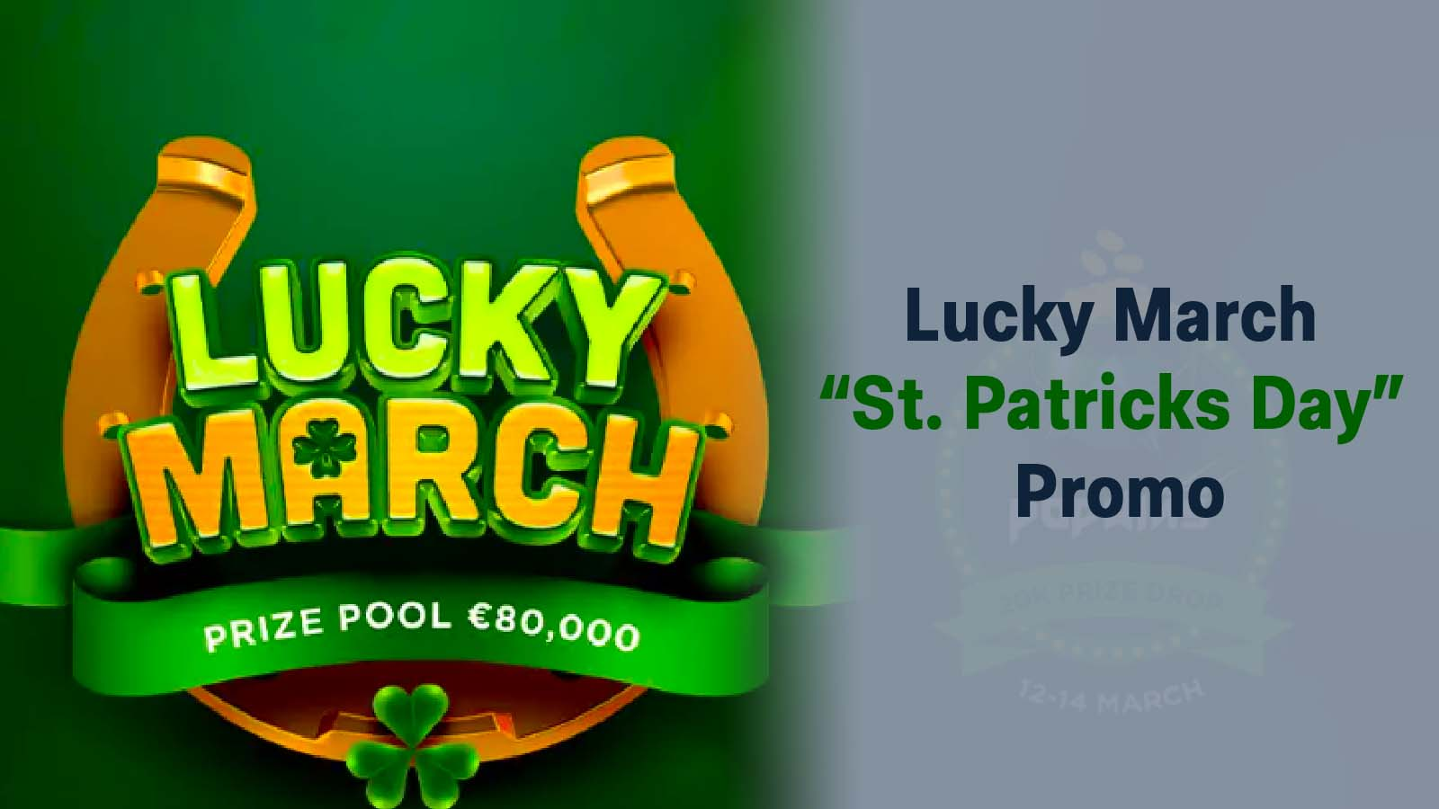 cSt Patricks Day Promo - Lucky March