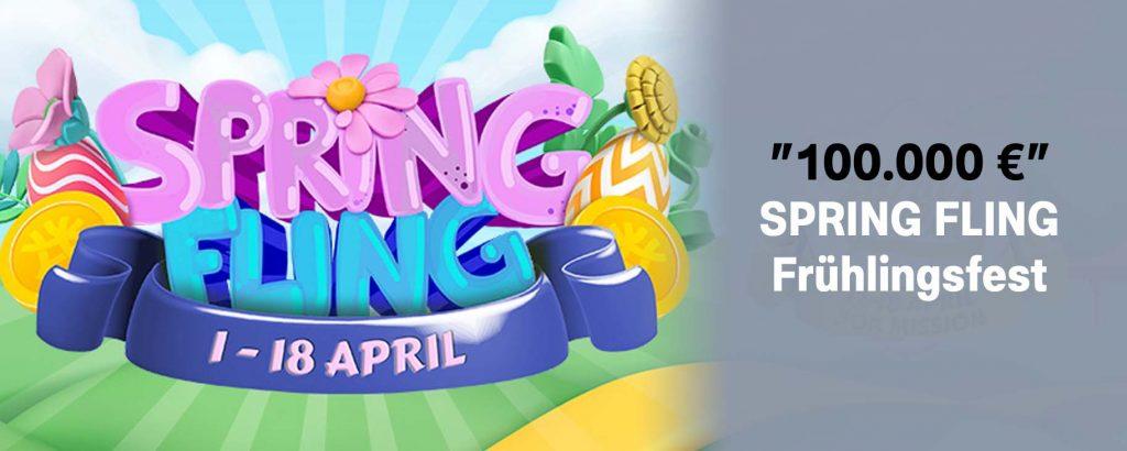 100.000 € Spring Fling frühlingsfest