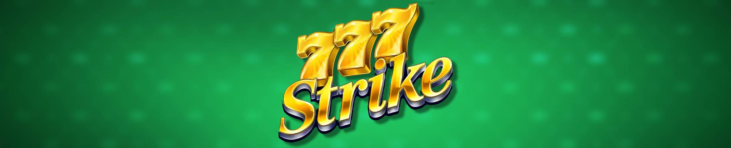 777 Strike slot Test