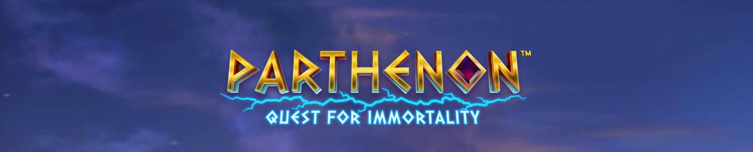 Parthenon Quest for Immortality NetEnt Spielautomat
