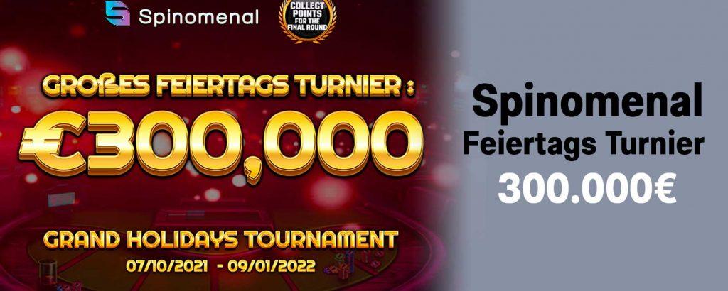 Spinomenal Feiertags-Turnier